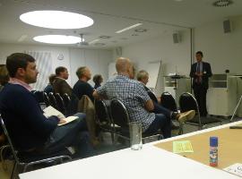 Vortrag über kommunale Energiewende
