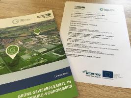 Broschüre Grüne Gewerbegebiete