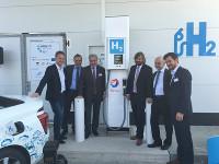 Eröffnung H2-Tankstelle