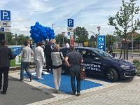 Eröffnung E-Tankstelle in Wismar