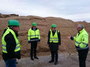 Besichtigung einer Biogasanlage und Kläranlag