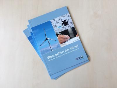 Broschüre Wem gehört der Wind?