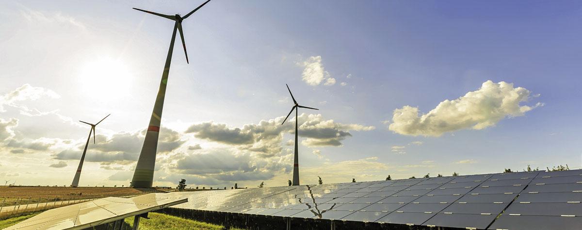 Windenergieanlagen und Photovoltaikanlagen