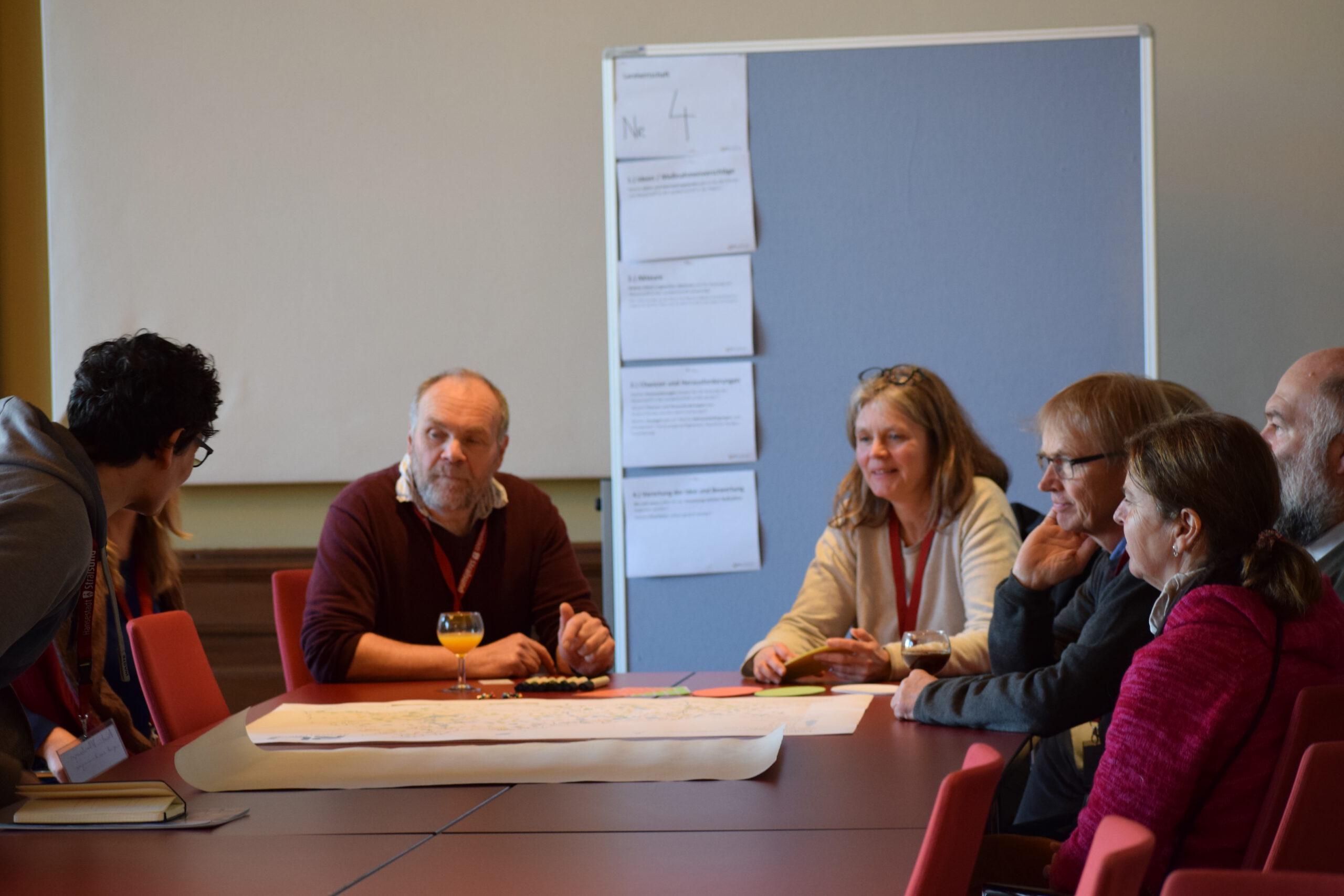 © LEKA MV | HyStarter Rügen-Stralsund | Dirk Niehaus leitete den Workshop Landwirtschaft