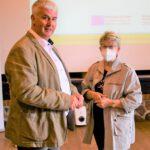 Christel Drewes (Bürgermeisterin) und Heiko Bäuch