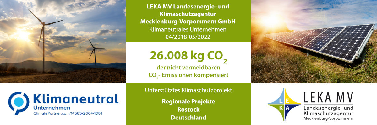 LEKA CO2 Kompensation