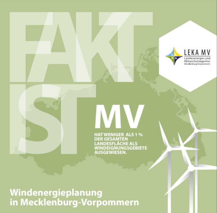 Vorschaubild Faktenpapier2 Windenergieanlagenplanung in MV