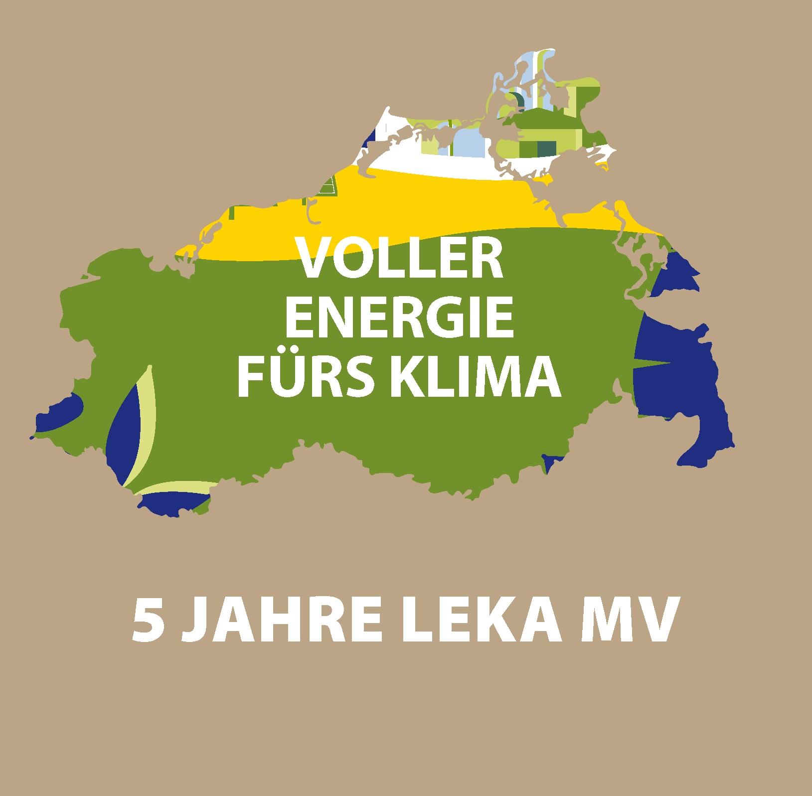 Titelbild Broschüre 5 Jahre LEKA MV sq