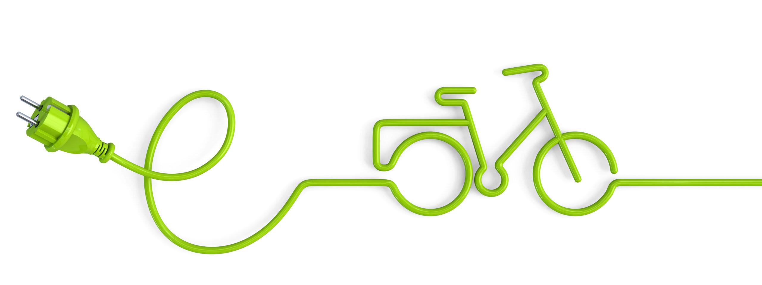 E-Bikes laden