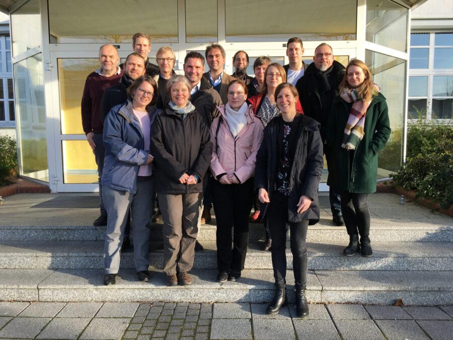 Kernteam der HyStater-Region Vorpommern-Rügen und die Projektbegleiter