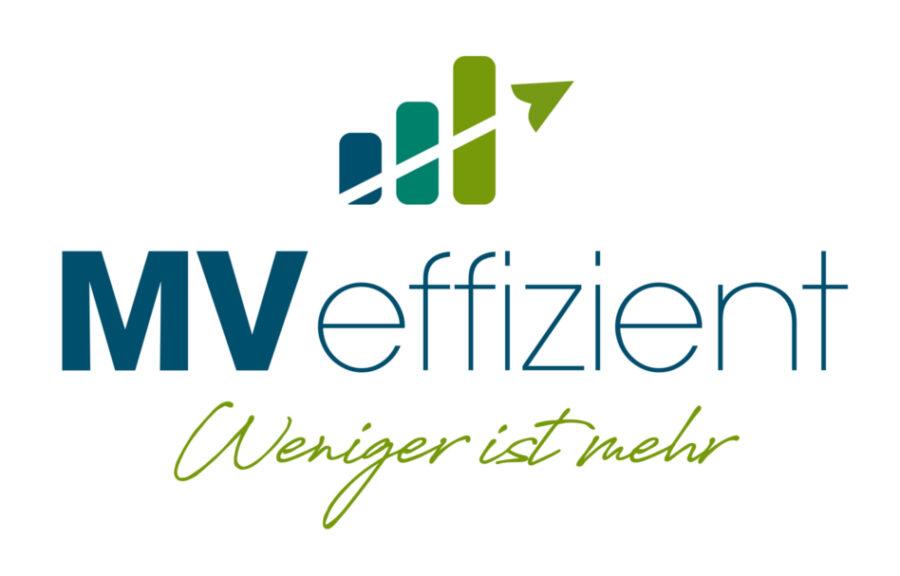 MVeffizient Logo mit Claim